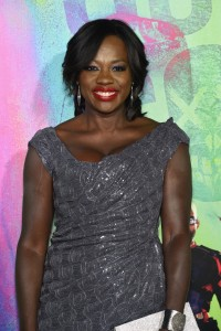 Viola Davis at the World premiere of Suicide Squad held at The Beacon Theatre, New York City on August 1, 2016.