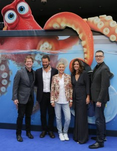 Cast and Crew of Finding Dory European Premiere London