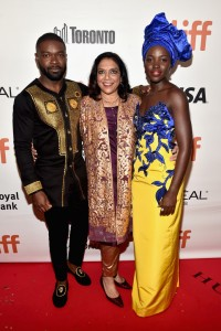 David Oyelowo, Mira Nair and Lupita Nyong'o Queen of Katwe Toronto International Film Festival Premiere