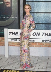 Emily Blunt The Girl on the Train World Premiere London
