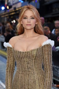 Haley Bennett The Girl on the Train World Premiere London