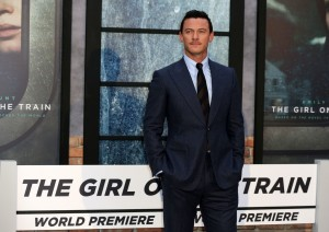 Luke Evans The Girl on the Train World Premiere London