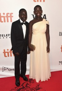 Martin Kabanza and Madina Nalwanga Queen of Katwe Toronto International Film Festival Premiere