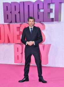 Patrick Dempsey at the world premiere of Bridget Jones' Baby held at Odeon, Leicester Square, London on Monday 5th September 2016.