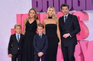Patrick Dempsey and family at the world premiere of Bridget Jones' Baby held at Odeon, Leicester Square, London on Monday 5th September 2016.