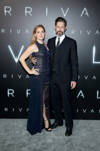Amy Adams and Darren Le Gallo Arrival Hollywood Premiere Los Angeles California
