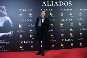 Brad Pitt Allied Madrid Premiere Spain