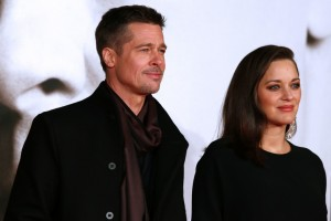 Brad Pitt and Marion Cotillard Allied UK Film Premiere Leicester Square London