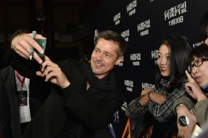 Brad Pitt Allied Shanghai Premiere Press Conference Event