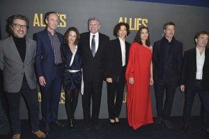 Cast and filmmakers of Allied Paris Premiere