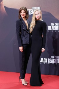 Cobie Smulders and Danika Yarosh Jack Reacher: Never Go Back Berlin Premiere