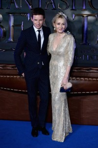 Eddie Redmayne and J.K. Rowling Fantastic Beasts and Where to Find Them European Premiere London Arrivals