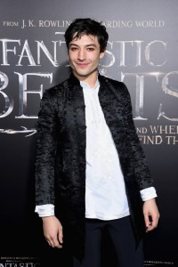 Ezra Miller Warner Bros. Fantastic Beasts and Where to Find Them World Premiere New York