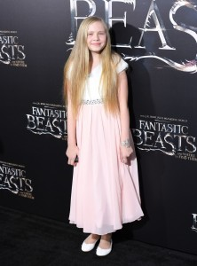 Faith Wood Blagrove Warner Bros. Fantastic Beasts and Where to Find Them World Premiere New York