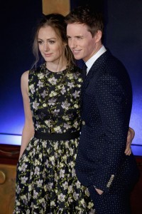 Hannah Bagshawe and Eddie Redmayne Fantastic Beasts and Where to Find Them European Premiere London Arrivals