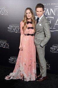 Hannah Bagshawe and Eddie Redmayne Warner Bros. Fantastic Beasts and Where to Find Them World Premiere New York