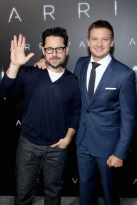 J.J. Abrams and Jeremy Renner Arrival Hollywood Premiere Los Angeles California