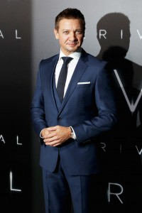 Jeremy Renner Arrival Hollywood Premiere Los Angeles California