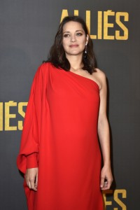 Marion Cotillard Allied Paris Premiere