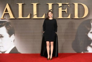 Marion Cotillard Allied UK Film Premiere Leicester Square London