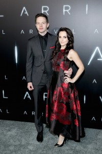 Mark O'Brien and Georgina Reilly Arrival Hollywood Premiere Los Angeles California