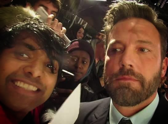 Ben Affleck The Accountant London Premiere