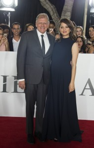 Robert Zemeckis and Marion Cotillard Allied Hollywood Los Angeles Premiere Fan Event