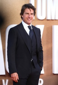 Tom Cruise Jack Reacher: Never Go Back London Premiere