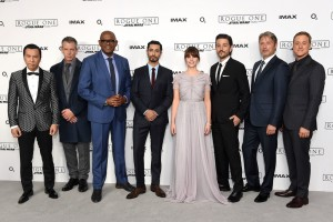 Cast of Rogue One: A Star Wars Story London Special Screening Event Premiere
