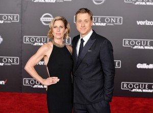 Charissa Barton and Alan Tudyk Rogue One: A Star Wars Story World Premiere