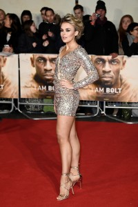 Tallia Storm I Am Bolt World Premiere London Leicester Square
