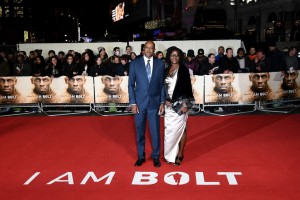 Wellesley and Jennifer Bolt, Athlete Usain Bolt's parents at the world premiere of I Am Bolt in London