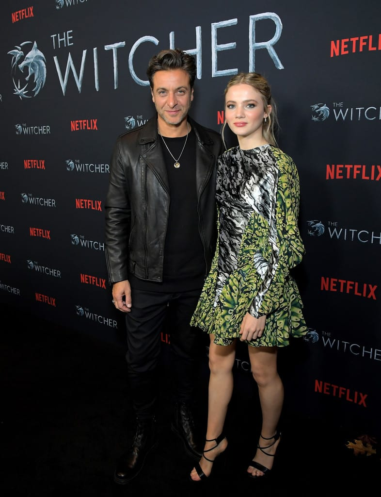 Adam Levy, Frey Allan Netflix's The Witcher Fan Screening Experience Event Los Angeles