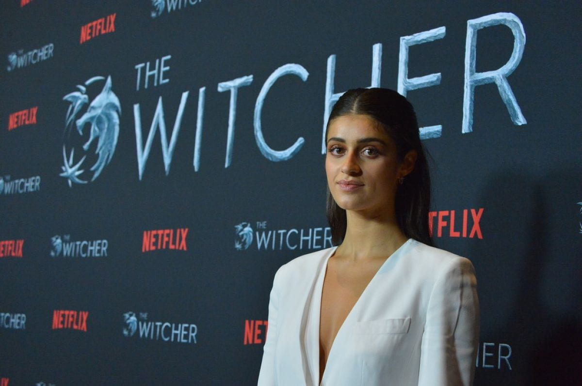Anya Chalotra Netflix's The Witcher Fan Screening Experience Event Los Angeles