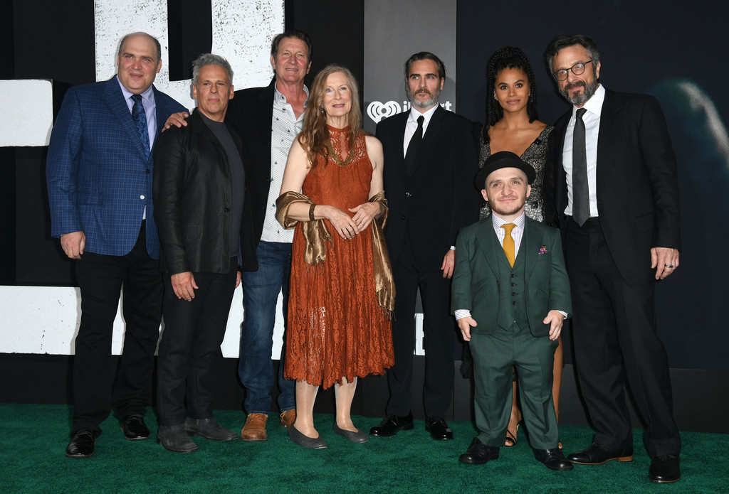 """Cast of Premiere Of Warner Bros Pictures """"Joker"""" in Hollywood, Los Angeles California - Arrivals"""