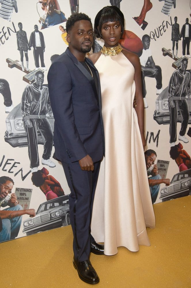 Daniel Kaluuya, Jodie Turner-Smith Queen and Slim UK Premiere Red Carpet Arrivals