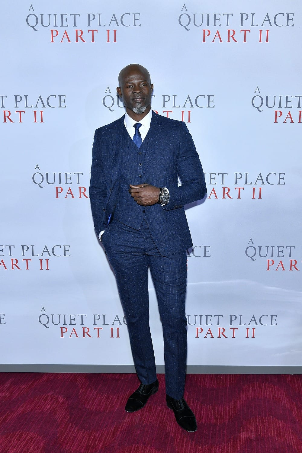 Djimon Hounsou A Quiet Place Part II New York City Premiere