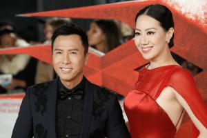 Donnie Yen and Cissy Wang