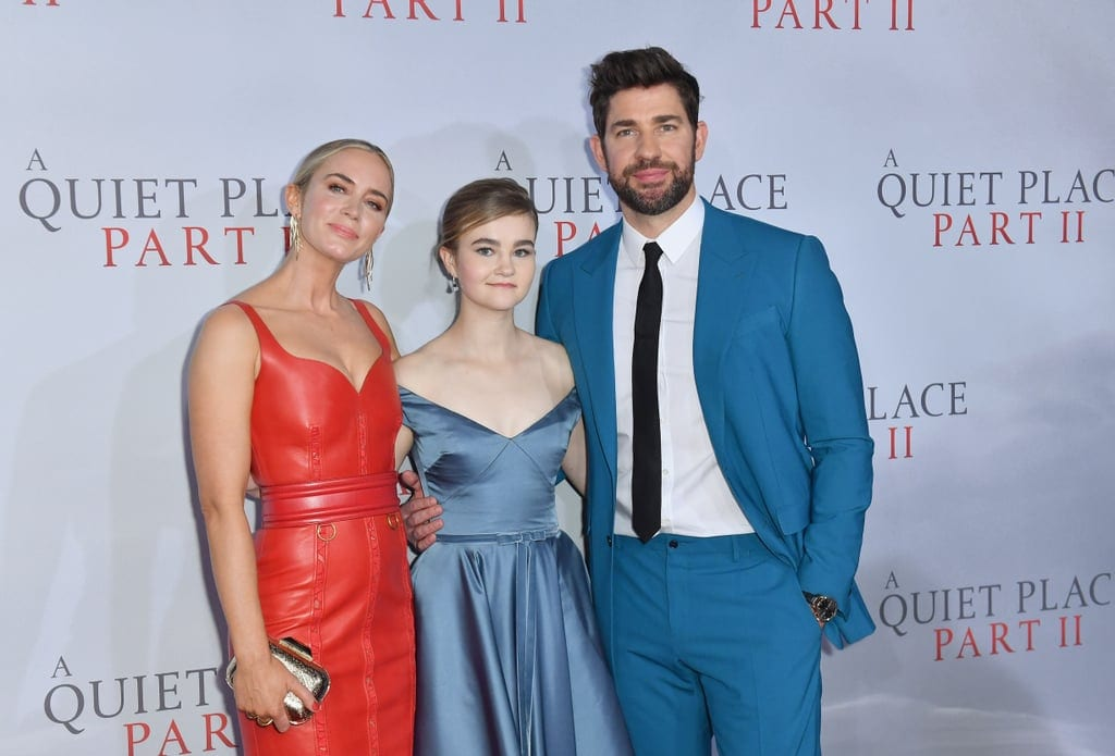 Cast of A Quiet Place Part II New York City Premiere