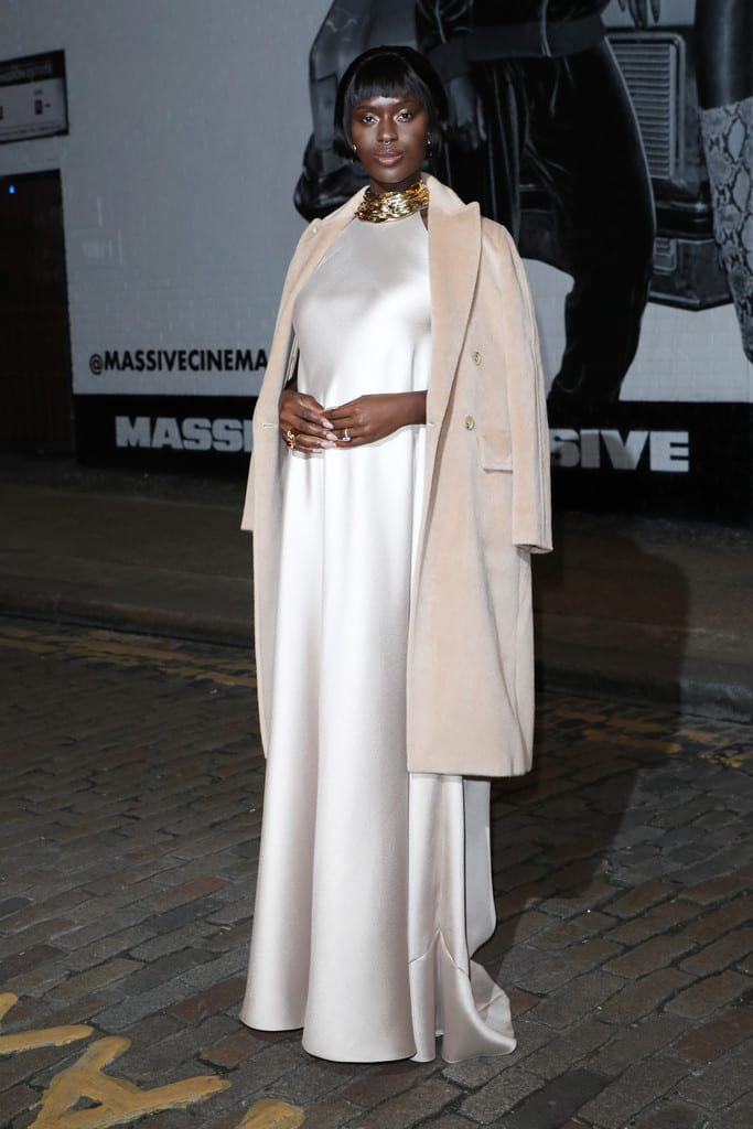 Jodie Turner-Smith Queen and Slim UK Premiere Red Carpet Arrivals