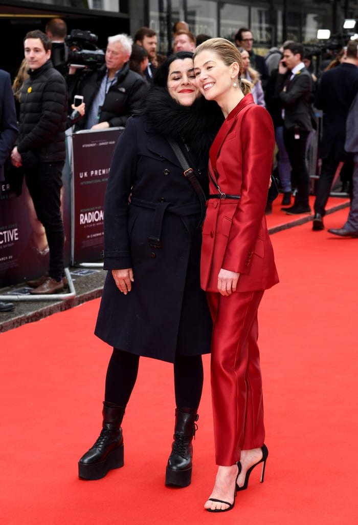 Marjane Satrapi, Rosamund Pike Radioactive UK Premiere London Red Carpet Arrivals