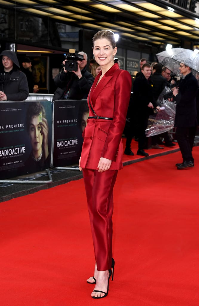Rosamund Pike Radioactive UK Premiere London Red Carpet Arrivals
