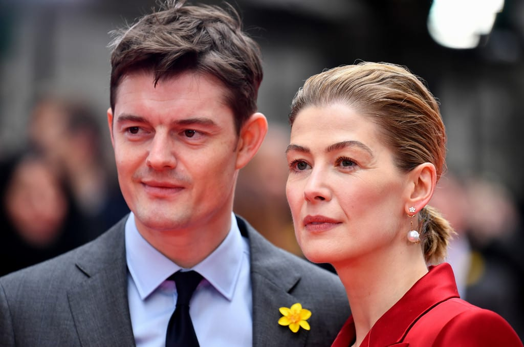 Sam Riley, Rosamund Pike Radioactive UK Premiere London Red Carpet Arrivals