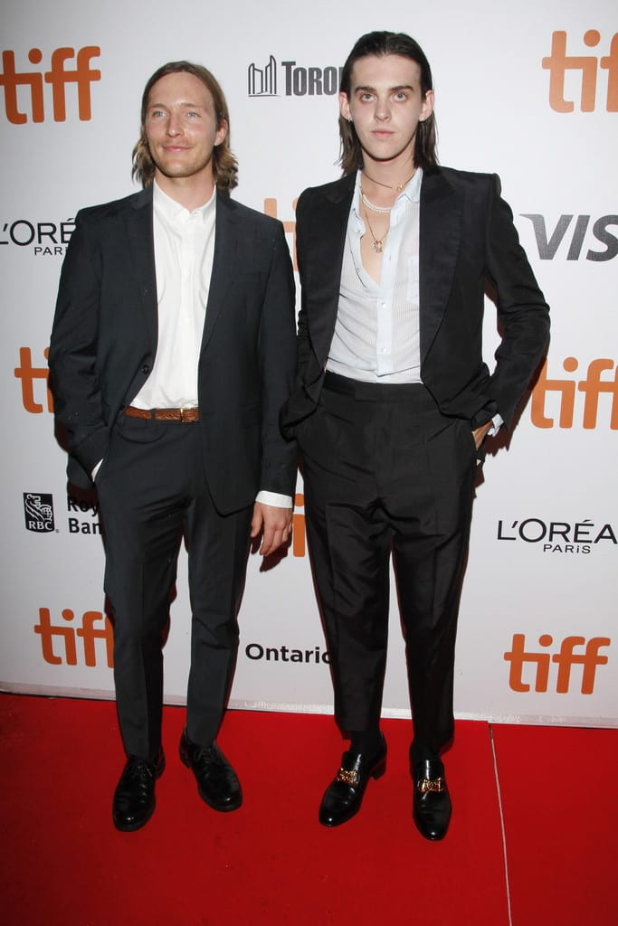 Sean Keenan and Earl Cave True History of the Kelly Gang Toronto International Film Festival Premiere TIFF 2019