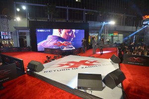Stage xXx: Return of Xander Cage Los Angeles Film Premiere Hollywood