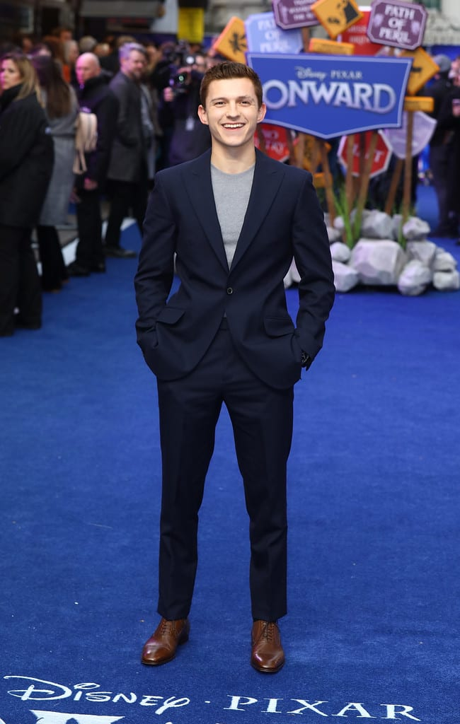 Tom Holland Disney Pixar Onward UK Premiere Red Carpet London