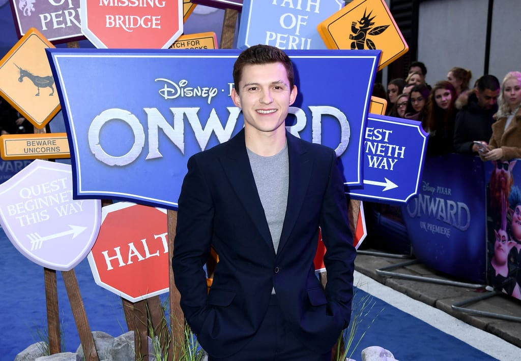 Tom Holland Disney Pixar Onward UK Premiere London