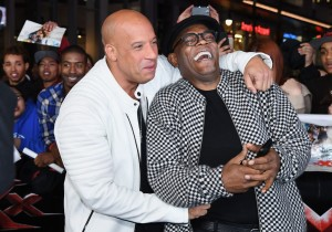 Vin Diesel and Samuel L. Jackson xXx: Return of Xander Cage Los Angeles Film Premiere Hollywood