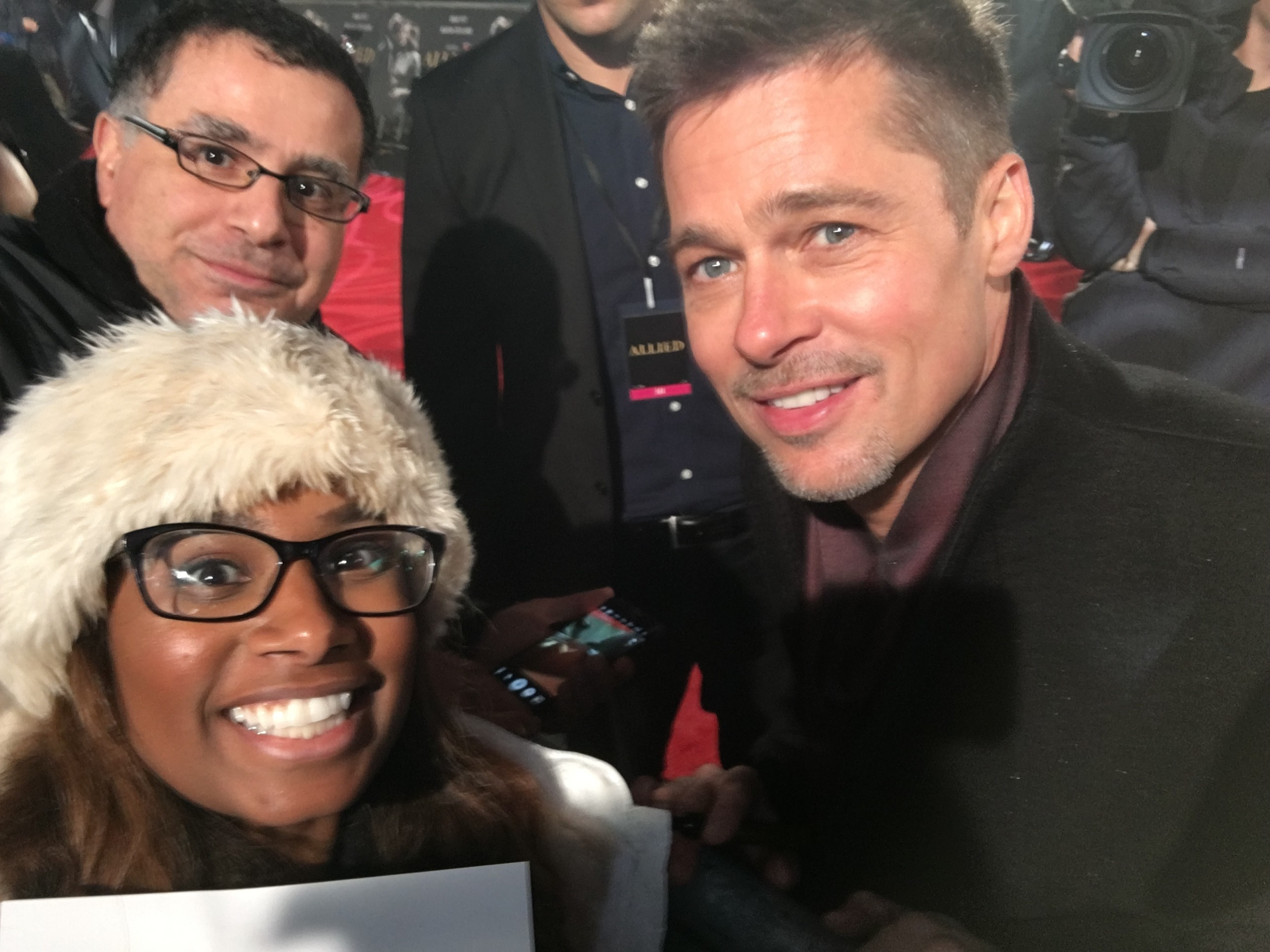 Brad Pitt Allied Premiere London