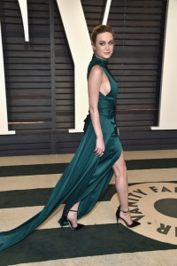 Brie Larson 2017 Vanity Fair Oscars After Party Red Carpet